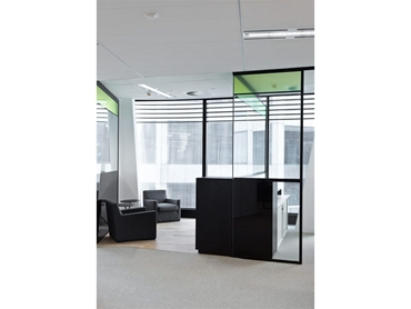 Glazed partition suites