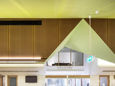 Au diBoard Au diPanel Au diSlat Broadmeadows Childrens Court Lyons Architects