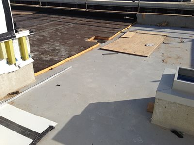 Express ISO integrated insulation and waterproofing membrane system