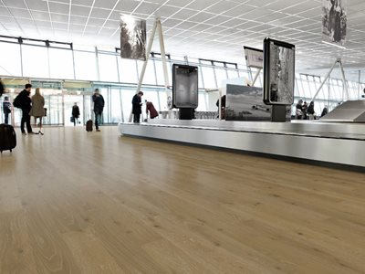 Premium Oak Flooring Airport