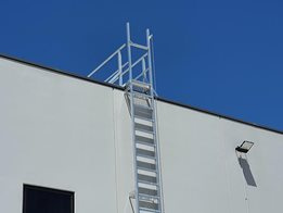Height Safety and Fall Arrest Systems by AM-BOSS Access Ladders Pty Ltd