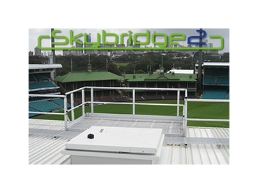 Skybridge2 Modular Walkway Systems with Handrails