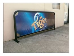 A-Frames, Cafe Barriers, Footpath Signs and Display Stands from National Sign Systems