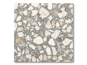 Idol Terrazzo Tiles are created from only natural stone elements.