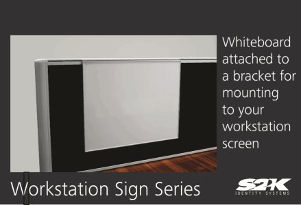 Product Showcase Workstation Sign Series