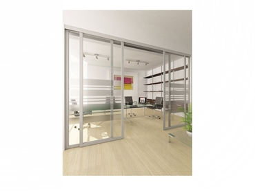 Architecturally pleasing concealed sliding door systems
