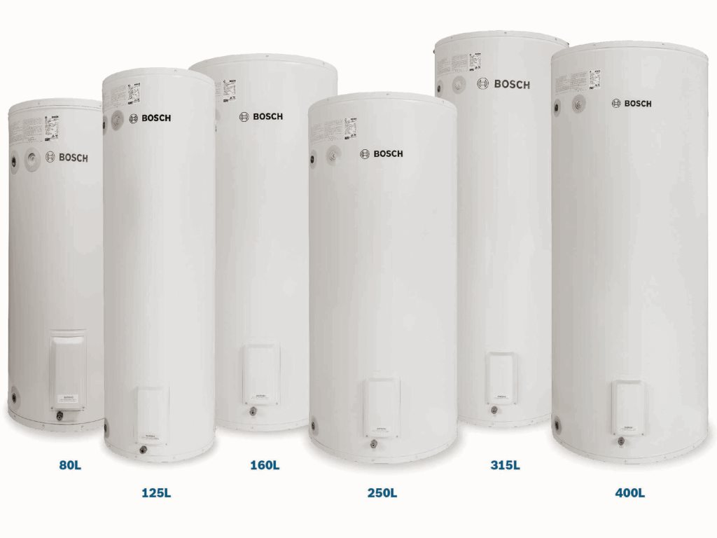 The Bosch Tronic 1000T range of electric water heaters