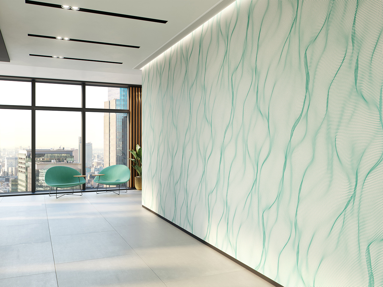 Muse: Acoustic interior wall panels from Woven Image