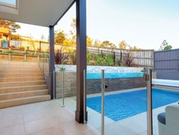 Semi-Frameless Glass Fencing from Dimension One Glass Fencing