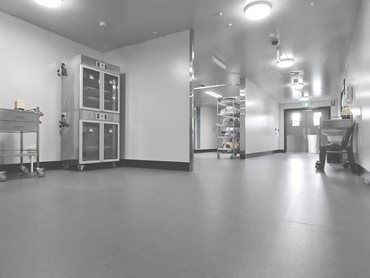 Altro XpressLay adhesive-free flooring was chosen for the fitout