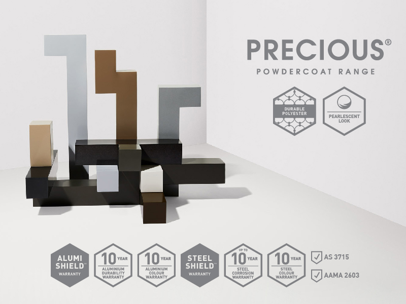 Create decorative and pearlescent finishes with Precious