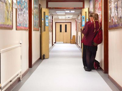 Altro highly durable and customisable wall and flooring products in school interior