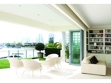 Enhance Your Outside View with Unobtrusive Bi fold Windows and Doors From Trend l