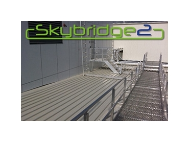 Skybridge2 Modular Walkway Systems with Handrails l jpg