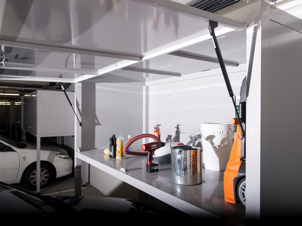 GarageSafe over-bonnet storage