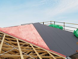 Managing condensation in roofs with Non-Combustible Permastop® Building Blanket