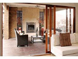 Extend your living area with Alfresco Sliding Stacker Doors from Trend