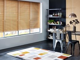 Low-maintenance aluminium Venetian blinds