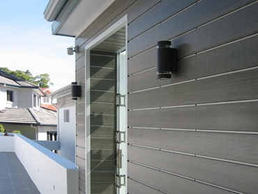 InnoClad Architectural Composite Wood Cladding System from Innowood Australia