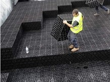 Underground stormwater tanks and drainage sheets with lightweight design from Elmich Australia