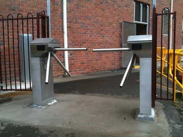 Efficient Turnstiles and Control Pillars from Magnetic Automation l jpg