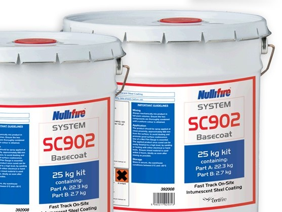 Nullifire SC 902: The market leading fast-track intumescent for the protection of structural steel