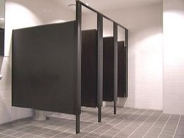 Reliable and Economical Toilet Partitions