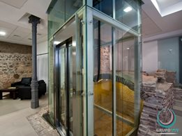 Domestic Home Elevators and Vertical Lifts by P. R. King & Sons