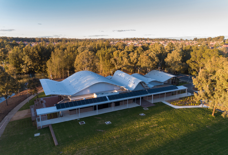 Woodcroft Community Centre Aerial