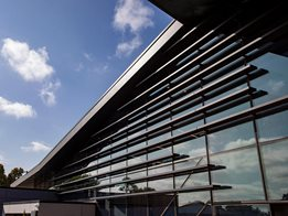 EDGE louvre systems: Fixed aluminium louvres for ventilation and design