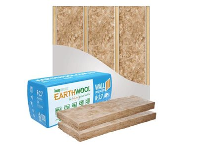 Earthwool thermal and acoustic wall application