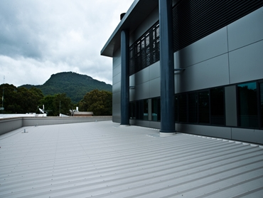 Insulated roof panels from Kingspan