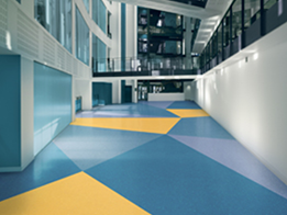 ​Pearlazzo PUR: Attractive, high performance, heavy duty homogeneous floorcovering