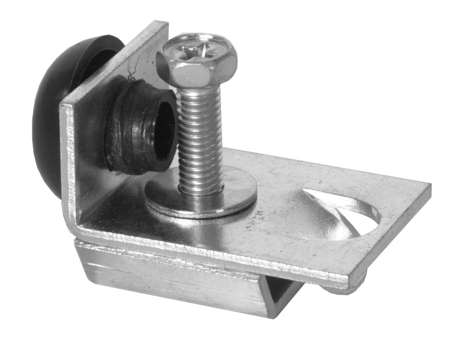 Detailed product image of door hardware