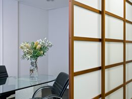 Interior screening / Room dividers
