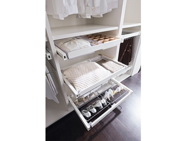 Elite Pullout Storage Systems for wardrobes