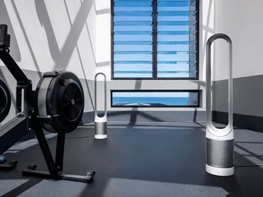 The Well Gym Rowing Machine Room With Dyson Fans