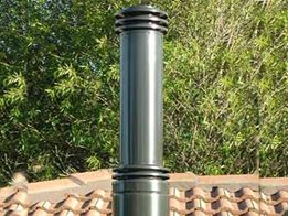 Architectural flue systems