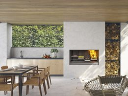 Escea outdoor kitchen