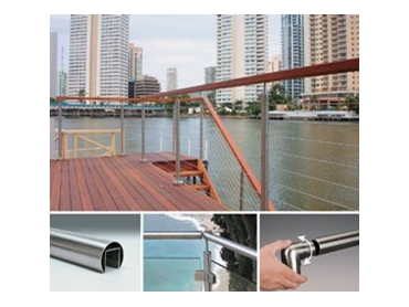 Stainless Steel Railing Systems for Secure Access and Barriers from Bridco