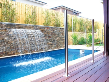 Semi Frameless Glass Fencing from Dimension One Glass Fencing l jpg
