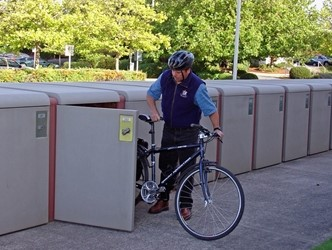 CycleSafe Bicycle Lockers from Cora Bike Rack l
