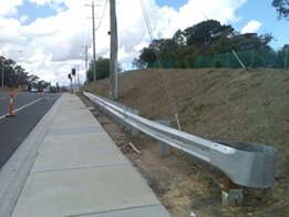 Roadside Guardrails from Armco barriers