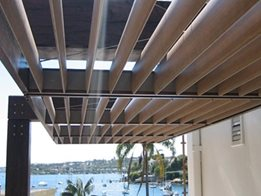 InnoShade Sun Shading and Solar Control System from Innowood Australia