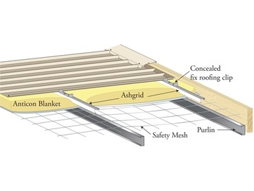 Ensure Optimal Insulation Performance with Ashgrid Spacers that now feature Pre Loaded Screws Safebridge Roof Systems from Bradford Insulation CSR l jpg