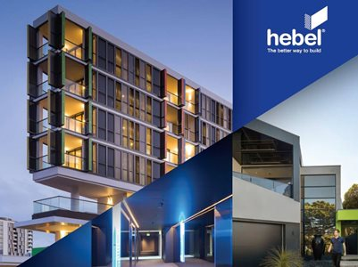 Montage of Building Facades from Hebel