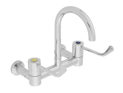 Hygienic Healthcare Tapware Galvin Engineering Swan Neck