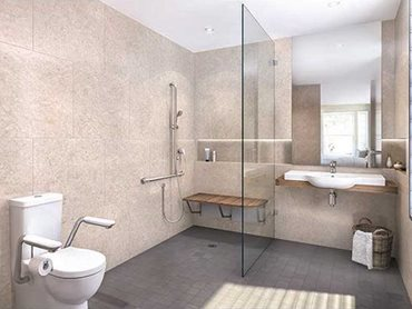 Caroma bathroom fittings for independent living