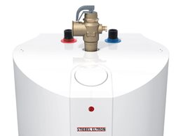 Mains pressure compact storage water heater