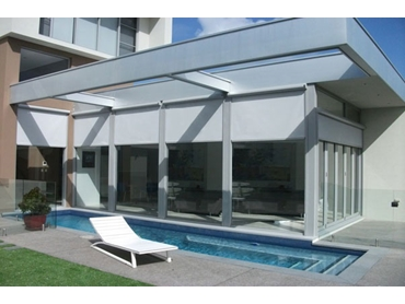 Flyloc Retractable Shade and Insect Screens from Issey Sun Shade Systems